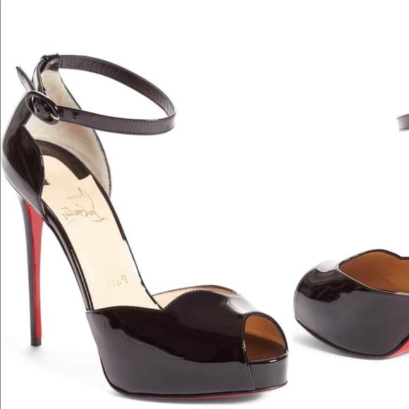04a8160bcb7 Christian Louboutin Aketata Ankle Strap Sandal NWT